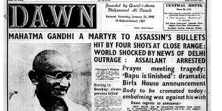 Assassination M Gandhi