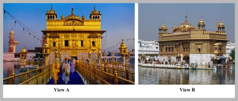 18 Harmandir Sahib two views