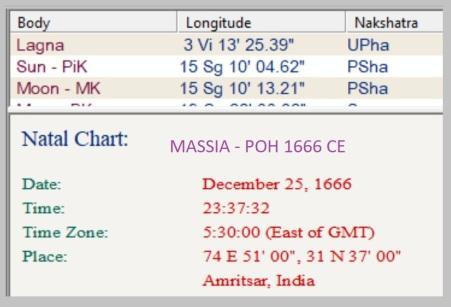 59 Massia POH 1666
