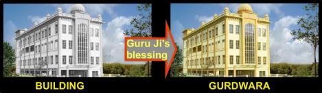 180420 Building to Gurdwara